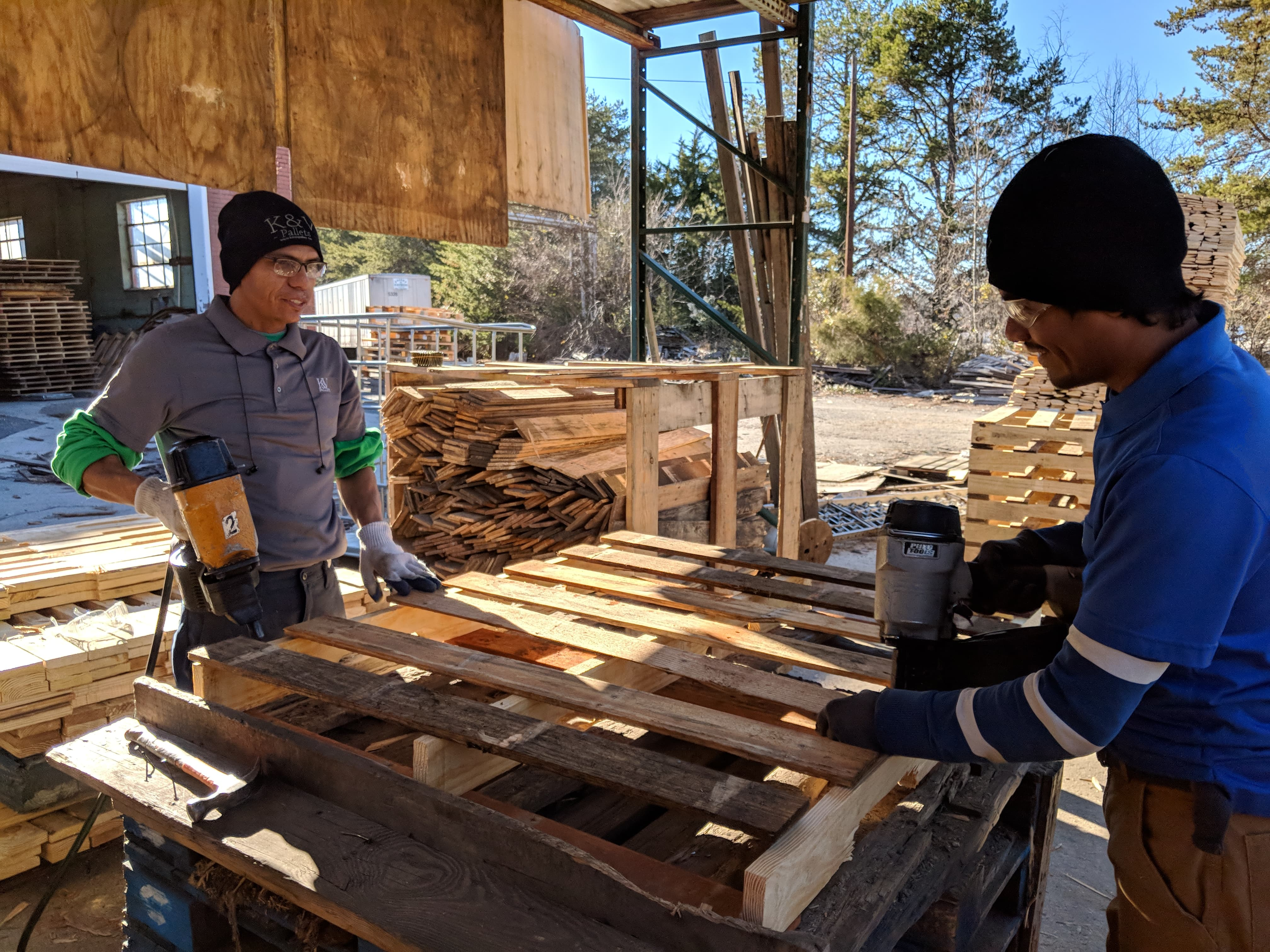 Building Pallets