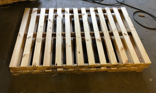 82x56 custom wood pallets